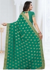 Faux Georgette Contemporary Style Saree - 2