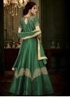 Art Silk Trendy Designer Salwar Kameez For Festival - 2