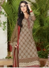 Outstanding Lace Work Pant Style Pakistani Suit For Ceremonial - 1