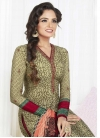 Trendy Churidar Salwar Kameez For Festival - 1