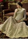 Silk Anarkali Salwar Suit For Festival - 1