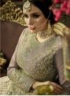 Silk Anarkali Salwar Suit For Festival - 2