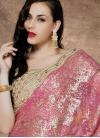 Thrilling Beads And Stone Work Designer Lehenga Saree - 1