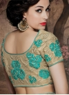 Modish Floral Work Designer Lehenga Saree - 2