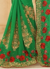 Admirable Booti Work Designer Contemporary Style Saree For Ceremonial - 2