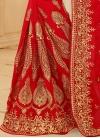 Renowned Booti Work Contemporary Saree - 2
