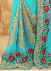 Conspicuous Booti Work Traditional Designer Saree For Ceremonial - 2