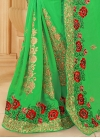 Faux Georgette Designer Contemporary Style Saree For Ceremonial - 2