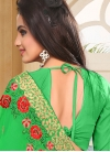 Faux Georgette Designer Contemporary Style Saree For Ceremonial - 1
