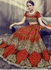 Embroidered Work Trendy A Line Lehenga Choli - 1