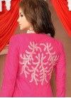 Embroidered Work Churidar Salwar Kameez - 1