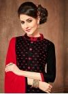 Embroidered Work Trendy Churidar Salwar Suit - 1