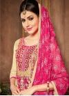 Trendy Churidar Salwar Kameez For Ceremonial - 1