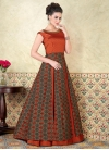 Tafeta Silk  Layered Designer Salwar Suit - 1
