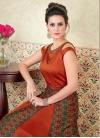 Tafeta Silk  Layered Designer Salwar Suit - 2