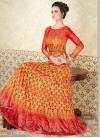 Print Work Anarkali Salwar Kameez - 1