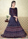 Print Work  Floor Length Anarkali Salwar Suit - 1