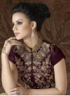 Silk Pant Style Designer Salwar Kameez - 1