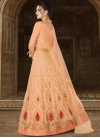 Embroidered Work Long Length Designer Anarkali Suit - 1