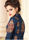 Embroidered Work Readymade Classic Gown - 2