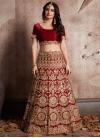 Trendy A Line Lehenga Choli For Bridal - 1