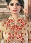 Fab Embroidered Work Net Designer A Line Lehenga Choli - 1