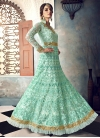 Net Floor Length Anarkali Salwar Suit For Party - 1
