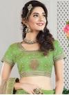 Glossy Trendy A Line Lehenga Choli For Festival - 1