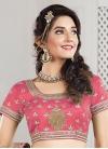 Tantalizing Beads Work Raw Silk A Line Lehenga Choli - 2