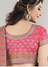 Tantalizing Beads Work Raw Silk A Line Lehenga Choli - 1