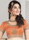 Sterling Raw Silk Beads Work A Line Lehenga Choli - 2