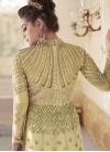 Embroidered Work Kameez Style Lehenga - 2