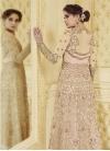 Net Embroidered Work Pant Style Salwar Kameez - 2