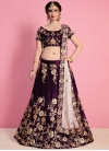 A Line Lehenga Choli For Festival - 1