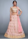 Embroidered Work Net Trendy Lehenga Choli - 1