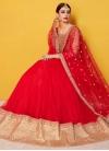Lace Work Trendy A Line Lehenga Choli - 1