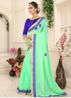 Faux Georgette Traditional Saree For Casual - 1