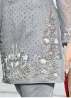 Magnificent Net Pant Style Designer Salwar Kameez For Ceremonial - 1
