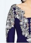 Designer Long Choli Lehenga For Party - 1