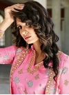 Conspicuous Beads Work Jacket Style Salwar Kameez - 1