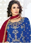 Crepe Silk Beads Work Designer Patiala Salwar Suit - 2