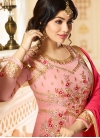 Ayesha Takia Faux Georgette Embroidered Work Long Length Anarkali Salwar Suit - 1