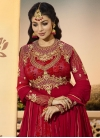 Ayesha Takia Digital Print Work Long Length Designer Anarkali Suit - 1