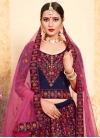 Satin Silk Designer A Line Lehenga Choli - 2