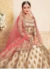 Satin Silk Booti Work Designer Lehenga Choli - 1