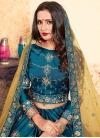 Embroidered Work Satin Silk Trendy Lehenga Choli - 2