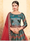 Embroidered Work Satin Silk Trendy Lehenga Choli - 2