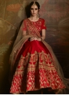 Satin A - Line Lehenga For Bridal - 2