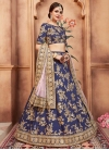 Art Silk Trendy Lehenga For Festival - 1