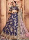 Art Silk Trendy Lehenga For Festival - 2